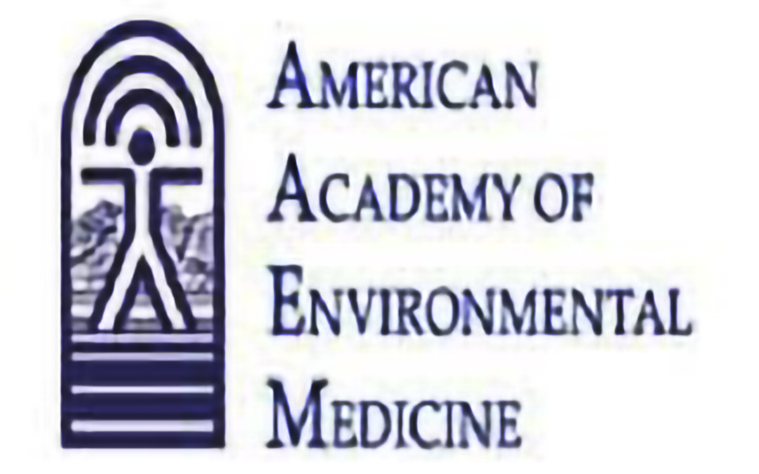 Featured speaker at the American Academy of Environmental Medicine
